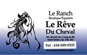 Le Ranch Le rêve du cheval