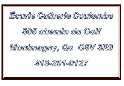 Écurie Catherine Coulombe